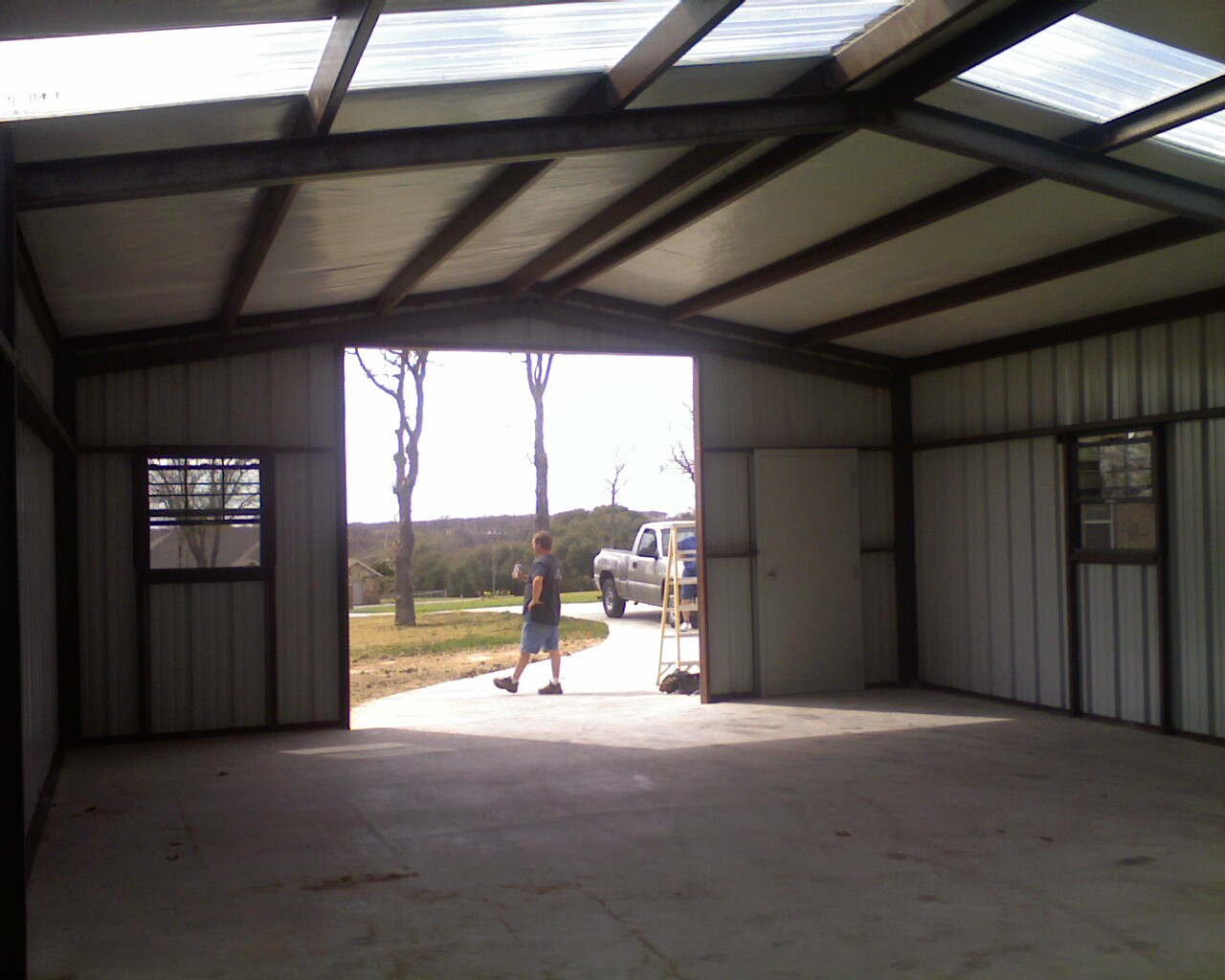 Construction Of Steel Buildings: CONSTRUCTION Process Of A 24' X 36